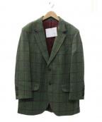 HACKETT(ハケット)の古着「テーラードジャケット」 グリーン