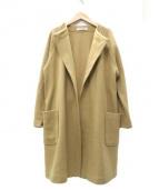 DRESSTERIOR(ドレステリア)の古着「スーパー100Sメルトンジャージジャケット」|ブラウン