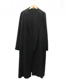 theory luxe(セオリー リュクス)の古着「ロングコート」|ブラック