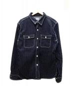 FLAT HEAD(フラットヘッド)の古着「ウォバッシュワークシャツ」|インディゴ