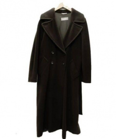 MaxMara(マックスマーラ)の古着「ウールコート」|ブラウン