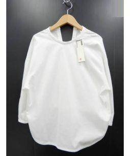 BACCA(バッカ)の古着「コットントロピカル バックリボンブラウス」|ホワイト