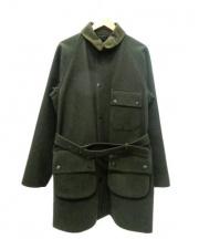Barbour(バブアー)の古着「ウールコート」 グリーン
