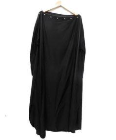 MADE IN HEAVEN(メイドインヘヴン)の古着「コルセット付きオーバーサイズドレス」|ブラック