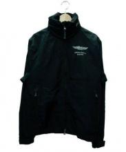 HACKETT(ハケット)の古着「ジップアップジャケット」|ブラック