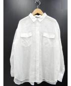 theory luxe(セオリー リュクス)の古着「リネンシャツ」|ホワイト
