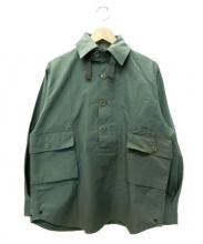 CORONA(コロナ)の古着「プルオーバーミリタリーシャツ」|グリーン