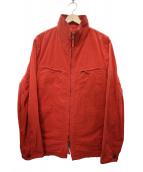 ILFARO(イルファーロ)の古着「ジップジャケット」|レッド