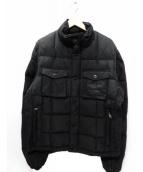 HACKETT(ハケット)の古着「ダウンジャケット」|ブラック