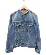 orSlow(オアスロウ)の古着「ノーカラーデニムジャケット」|ライトインディゴ