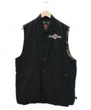 INDEPENDENT(インディペンデント)の古着「ベスト」 ブラック