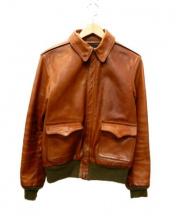 THE REAL McCOYS(ザ・リアルマッコイズ)の古着「A-2フライトジャケット」|ブラウン