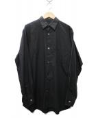 Ys bis(ワイズビス)の古着「シャツ」|ブラック