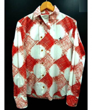 vivienne westwood MAN(ヴィヴィアン ウエストウッド マン)の古着「シャツ」|レッド×ホワイト