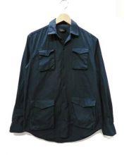 UNDERCOVER(アンダーカバー)の古着「4PKアーミーシャツ」|ネイビー