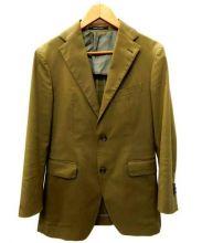 TAGLIATORE(タリアトーレ)の古着「コットンセットアップスーツ」|オリーブ