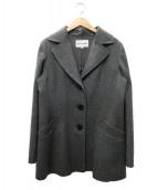 HANAE MORI(ハナエ モリ)の古着「カシミヤコート」 グレー