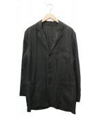 C.P COMPANY(シーピーカンパニー)の古着「リネンジャケット」|グレー