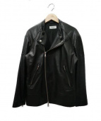 Edition(エディション)の古着「ラムレザージャケット」|ブラック