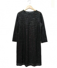 agnes b(アニエスベー)の古着「JBI5 ROBE ワンピース」|ブラック