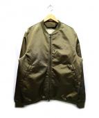 ACNE STUDIOS(アクネ ストゥディオズ)の古着「セロライトMA-1ジャケット」|カーキ