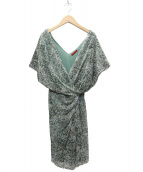 VIVIENNE TAM(ヴィヴィアン・タム)の古着「ワンピース」|グリーン