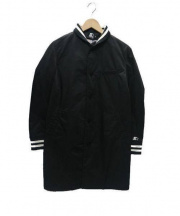 VOTE MAKE NEW CLOTHES(ヴォート メイク ニュー クローズ)の古着「スターターチェスターコート」|ブラック
