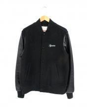 SUPREME(シュプリーム)の古着「スタジャン」|ブラック