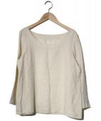 YAMMA(ヤンマ)の古着「リネンブラウス」|アイボリー