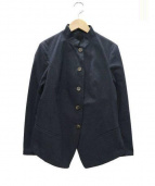 forme dexpression(フォルメ デ エクスプレッション)の古着「スタンドカラージャケット」|ネイビー