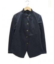 forme dexpression(フォルメ デ エクスプレッション)の古着「スタンドカラージャケット」 ネイビー