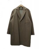 Edwina Horl(エドウィナホール)の古着「チェスターコート」|ベージュ