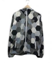 F.C.R.B.(エフシーレアルブリストル)の古着「フーデッドジャケット」 ブラック