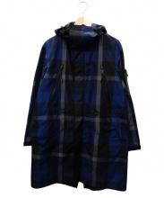 BLACK LABEL CRESTBRIDGE(ブラックレーベルクレストブリッジ)の古着「モッズコート」|ブルー
