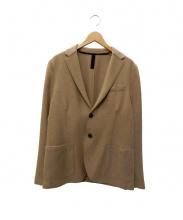 HARRIS WHARF LONDON(ハリスワーフロンドン)の古着「テーラードジャケット」|ベージュ