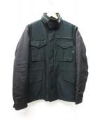 ALPHA×LEE(アルファ×リー)の古着「M65ジャケット」|ブラック