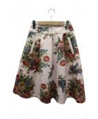 MS GRACY(エムズグレイシー)の古着「花柄スカート」