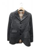 ADJUSTABLE COSTUME(アジャスタブルコスチューム)の古着「コットンジャケット」 グレー