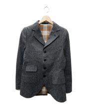 ADJUSTABLE COSTUME(アジャスタブルコスチューム)の古着「コットンジャケット」|グレー