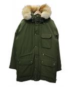 CAPE HEIGHTS(ケープハイツ)の古着「ダウンコート」|オリーブ