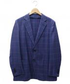 TOMORROWLAND(トゥモローランド)の古着「カシミヤシルク混ジャケット」|パープル