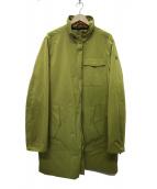 VICTORINOX(ビクトロニックス)の古着「ナイロンスタンドカラーコート」|イエロー