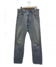 Martin Margiela0 10(マルタンマルジェラ)の古着「リメイクデニムパンツ」|インディゴ