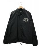 DEUS EX MACHINA(デウスエキスマキナ)の古着「コーチジャケット」|ブラック