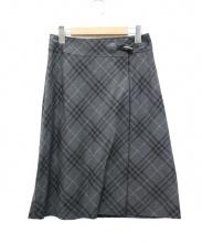BURBERRY LONDON(バーバリーロンドン)の古着「ラップスカート」