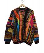 coogi(クージー)の古着「ウール立体編みニット」