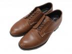 FOOTSTOCK ORIGINALS(フットストック オリジナルス)の古着「プレーントゥシューズ」|ブラウン