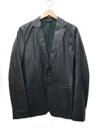 JIL SANDER(ジルサンダー)の古着「テーラードレザージャケット」