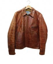 AERO LEATHER(エアロレザー)の古着「ホースハイドジャケット」
