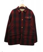 POLO COUNTRY(ポロカントリー)の古着「リバーシブルジャケット」|レッド×ベージュ